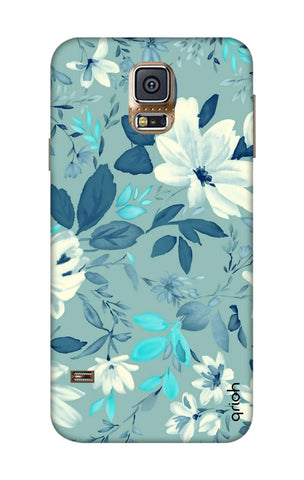 White Lillies Samsung S5 Cases & Covers Online