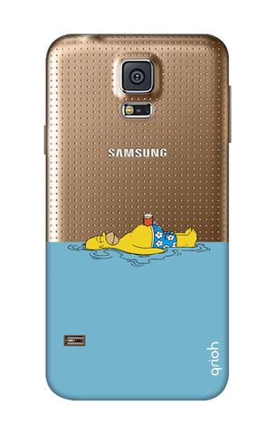 Simpson Chill Samsung S5 Cases & Covers Online