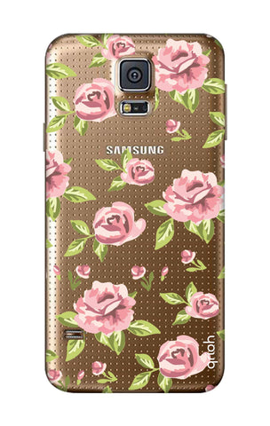 Elizabeth Era Floral Samsung S5 Cases & Covers Online