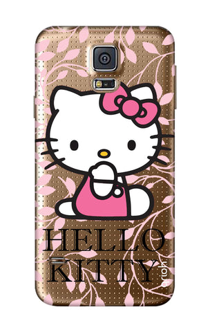 Hello Kitty Floral Samsung S5 Cases & Covers Online