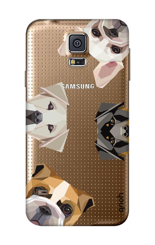 Geometric Dogs Samsung S5 Cases & Covers Online