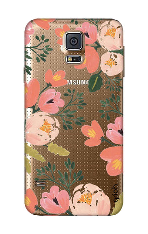 Painted Flora Samsung S5 Cases & Covers Online