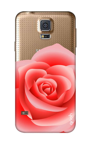 Peach Rose Samsung S5 Cases & Covers Online