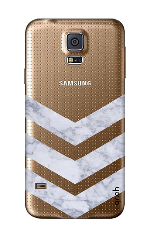 Marble Chevron Samsung S5 Cases & Covers Online