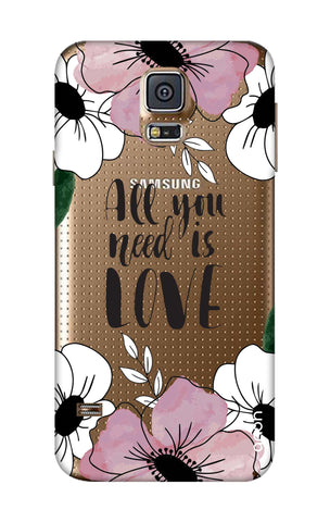 All You Need is Love Samsung S5 Cases & Covers Online