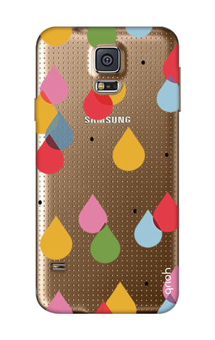 Colourful Drops Samsung S5 Cases & Covers Online