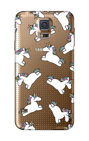 Jumping Unicorns Samsung S5 Cases & Covers Online