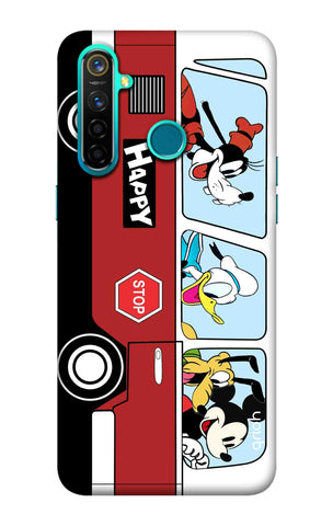 Cartoon Bus Realme 5 Pro Cases & Covers Online