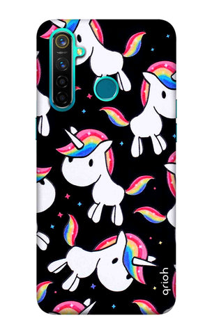 Colourful Unicorn Realme 5 Pro Cases & Covers Online