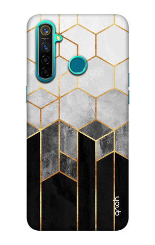 Tricolor Pattern Case Realme 5 Pro Cases & Covers Online