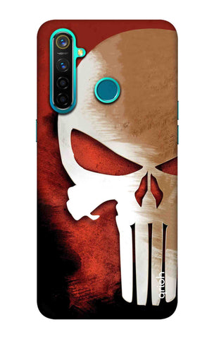 Red Skull Case Realme 5 Pro Cases & Covers Online