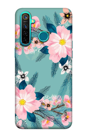 Graceful Floral Case Realme 5 Pro Cases & Covers Online