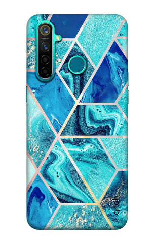 Aquatic Tiles Case Realme 5 Pro Cases & Covers Online