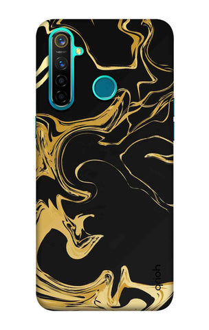Copper Liquid Case Realme 5 Pro Cases & Covers Online