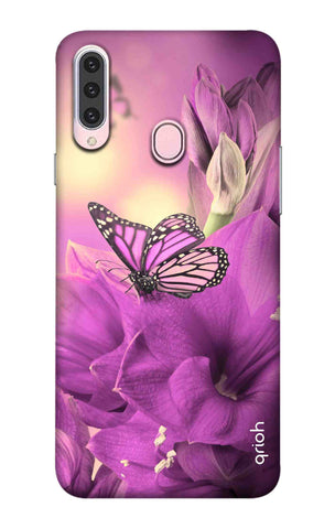 Purple Butterfly Samsung Galaxy A20s Cases & Covers Online