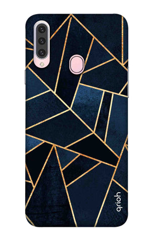 Abstract Navy Samsung Galaxy A20s Cases & Covers Online
