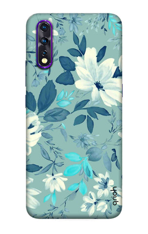 White Lillies Vivo Z1X Cases & Covers Online