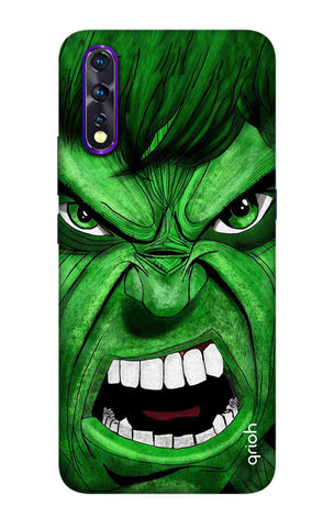 Angry Man Case Vivo Z1X Cases & Covers Online