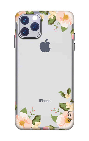 Flower In Corner iPhone 11 Pro Cases & Covers Online