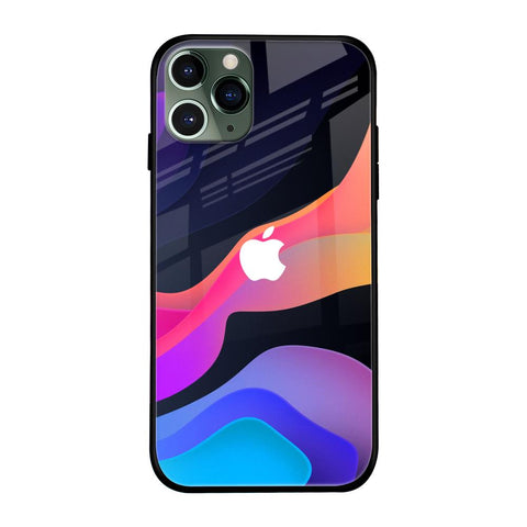 Colorful Fluid iPhone 11 Pro Max Glass Cases & Covers Online