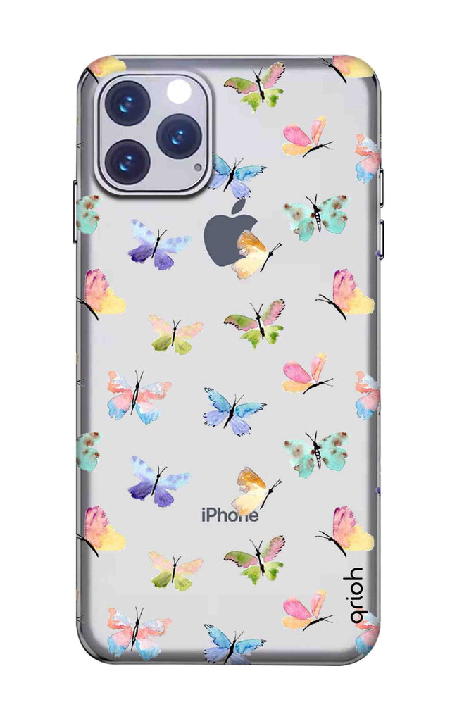 Painted Butterflies Iphone 11 Pro Max Back Cover Flat 35 Off On Iphone 11 Pro Max Covers Qrioh Com