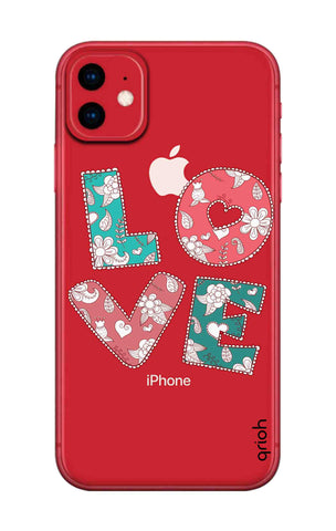 Love Text iPhone 11 Cases & Covers Online