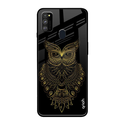 Golden Owl Samsung Galaxy M30s Glass Cases & Covers Online