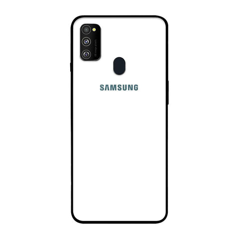 Arctic White Samsung Galaxy M30s Glass Cases & Covers Online