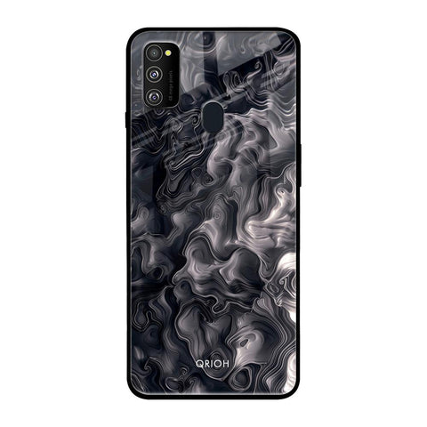 Cryptic Smoke Samsung Galaxy M30s Glass Cases & Covers Online