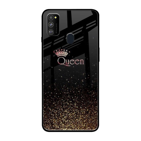 I Am The Queen Samsung Galaxy M30s Glass Cases & Covers Online