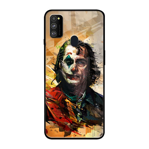 Psycho Villain Samsung Galaxy M30s Glass Cases & Covers Online