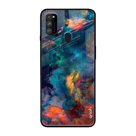 Cloudburst Samsung Galaxy M30s Glass Cases & Covers Online