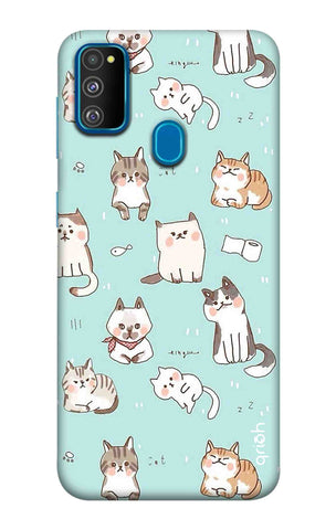 Cat Kingdom Samsung Galaxy M30s Cases & Covers Online