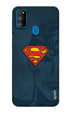 Wild Blue Superman Samsung Galaxy M30s Cases & Covers Online