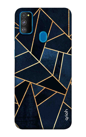Abstract Navy Samsung Galaxy M30s Cases & Covers Online
