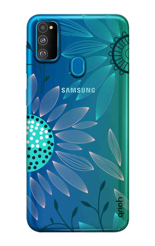 Pink And Blue Petals Samsung Galaxy M30s Cases & Covers Online