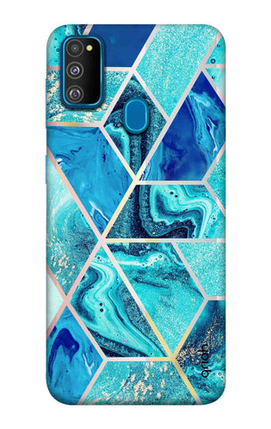 Aquatic Tiles Case Samsung Galaxy M30s Cases & Covers Online
