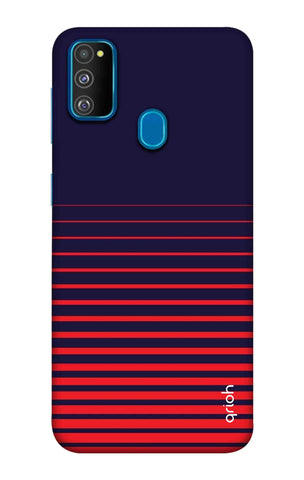 Ascending Stripes Case Samsung Galaxy M30s Cases & Covers Online