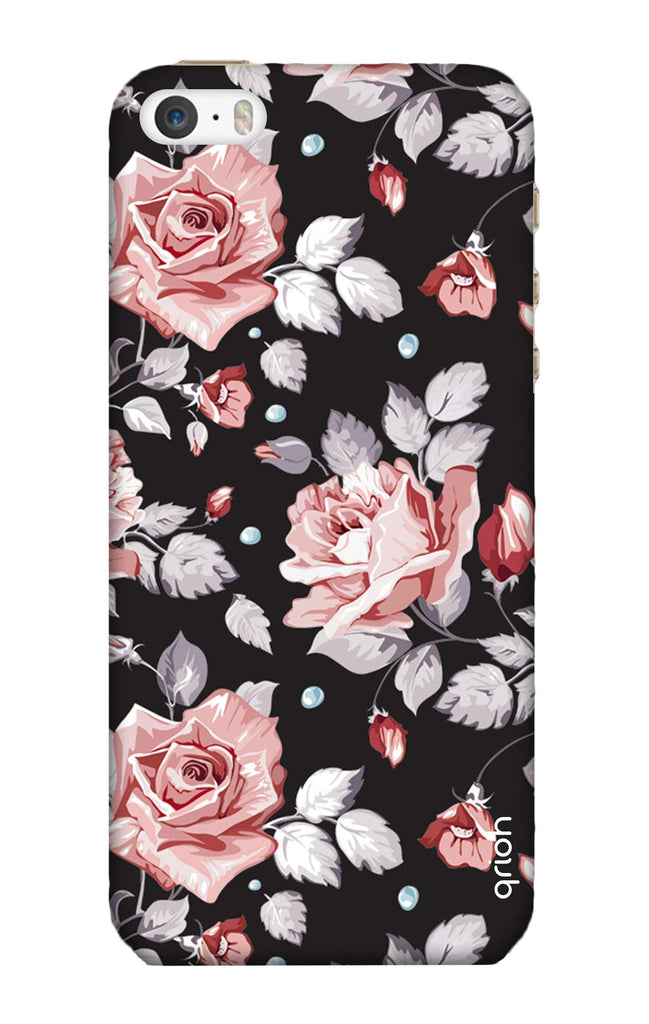 65345e4583a Shabby Chic Floral iPhone 5S Back Cover - Flat 35% Off On iPhone 5S Covers  – Qrioh.com