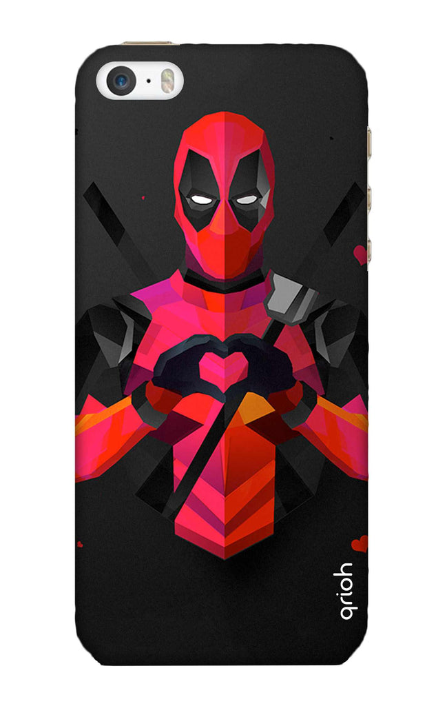 los angeles a716c e033f Valentine Deadpool Case for iPhone 5S