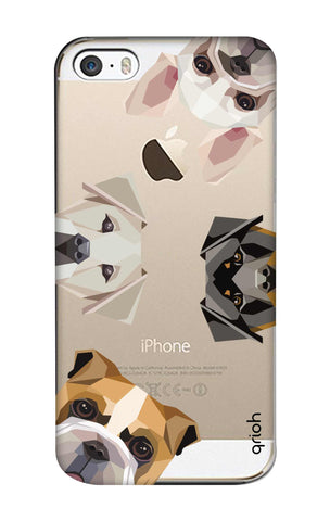Geometric Dogs iPhone 5S Cases & Covers Online