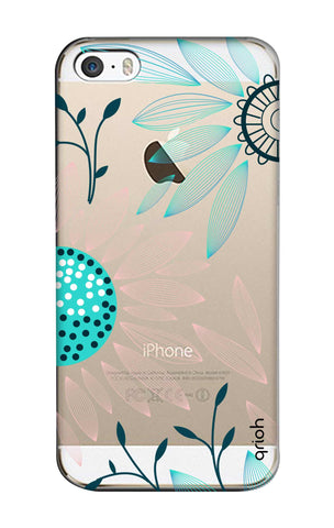 Pink And Blue Petals iPhone 5S Cases & Covers Online