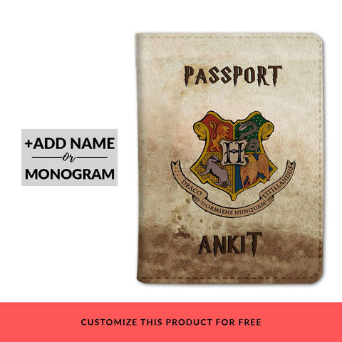 Minitry Of Magic Custom Passport Cover