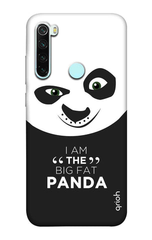 Big Fat Panda Xiaomi Redmi Note 8 Cases & Covers Online