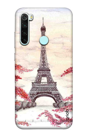 Eiffel Art Xiaomi Redmi Note 8 Cases & Covers Online
