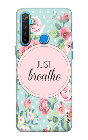 Vintage Just Breathe Realme 5 Cases & Covers Online