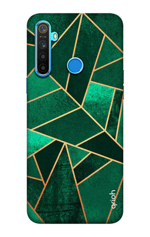 Emerald Tiles Case Realme 5 Cases & Covers Online