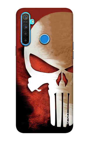 Red Skull Case Realme 5 Cases & Covers Online