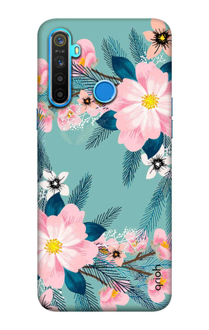 Graceful Floral Case Realme 5 Cases & Covers Online