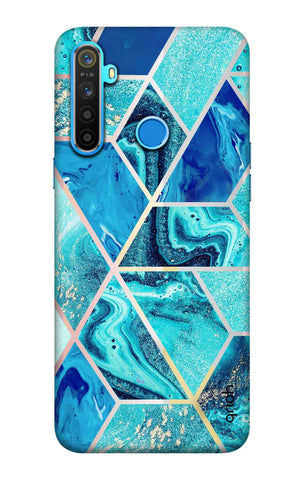 Aquatic Tiles Case Realme 5 Cases & Covers Online
